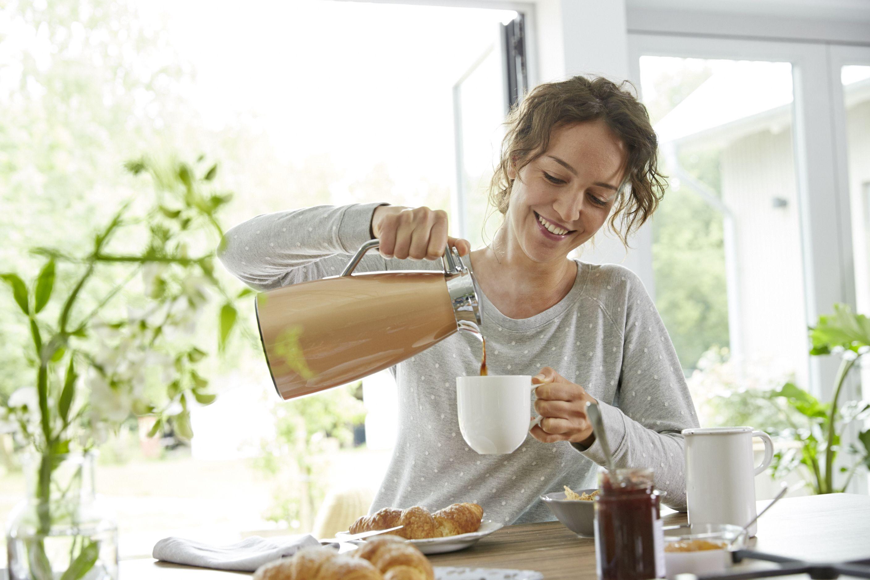 Jeder Genuss beginnt mit einem guten Frühstück. #emsa #emsagmbh #bell #metallic #fruehstueck #geniessen #kaffee #kaffeekanne