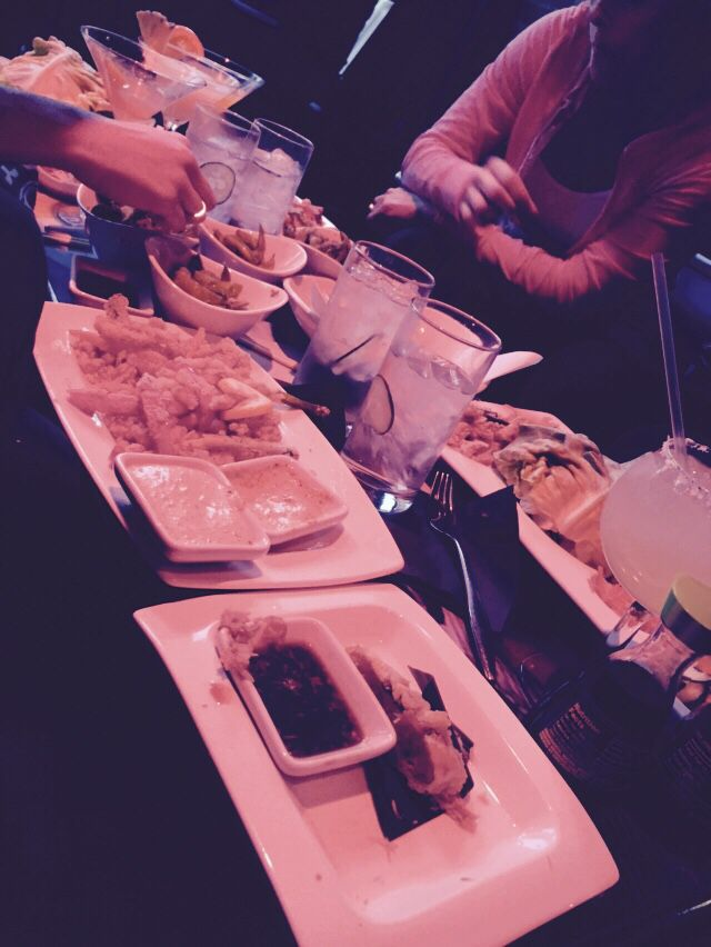 Sushi with the sister and In laws
