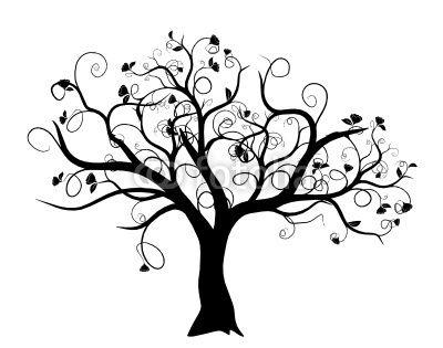 vecteur vecteur s rie arbre vectoriel noir sur fond blanc tatouage pinterest fond. Black Bedroom Furniture Sets. Home Design Ideas