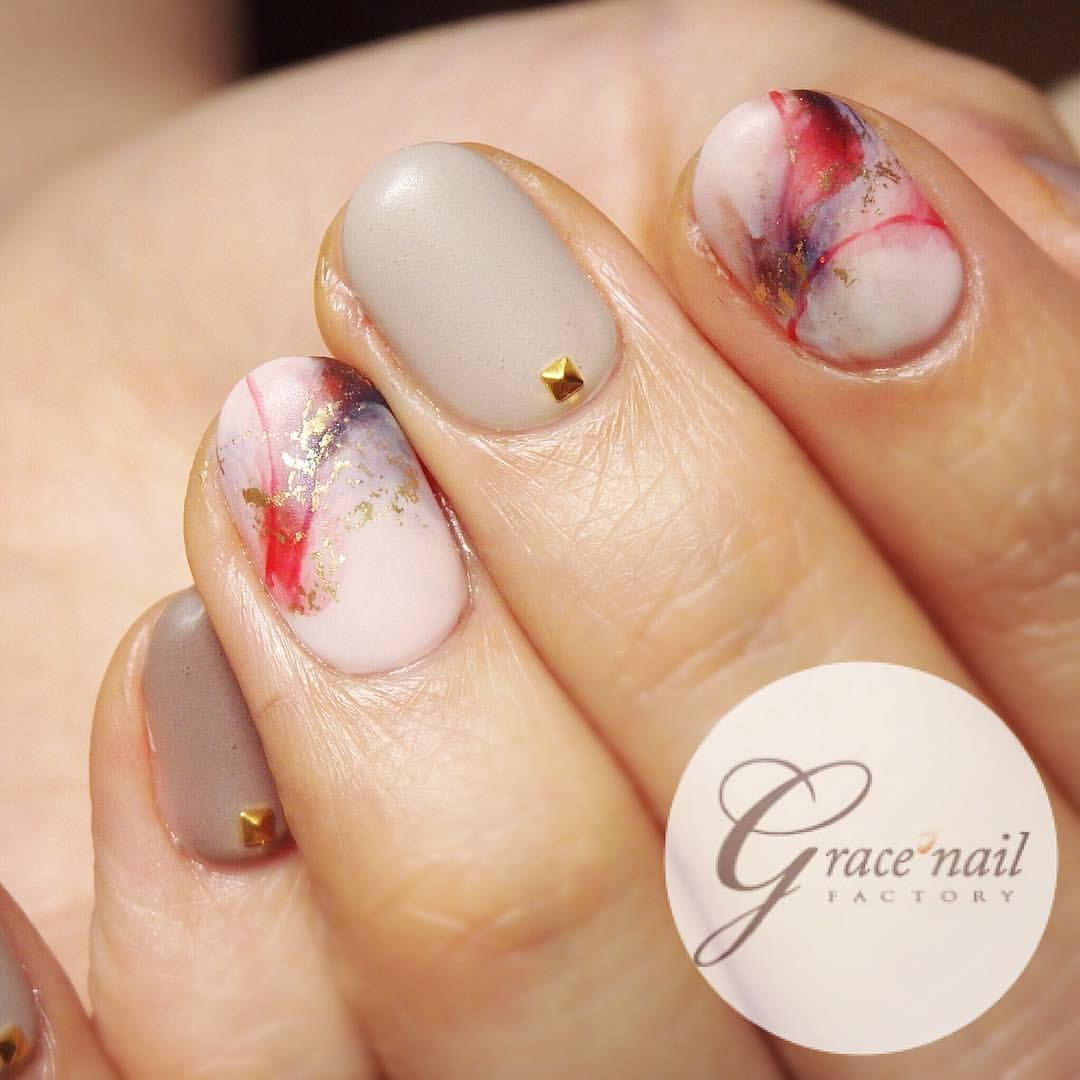 Very pretty marble nail japanese style glam glam nail art very pretty marble nail japanese style prinsesfo Image collections