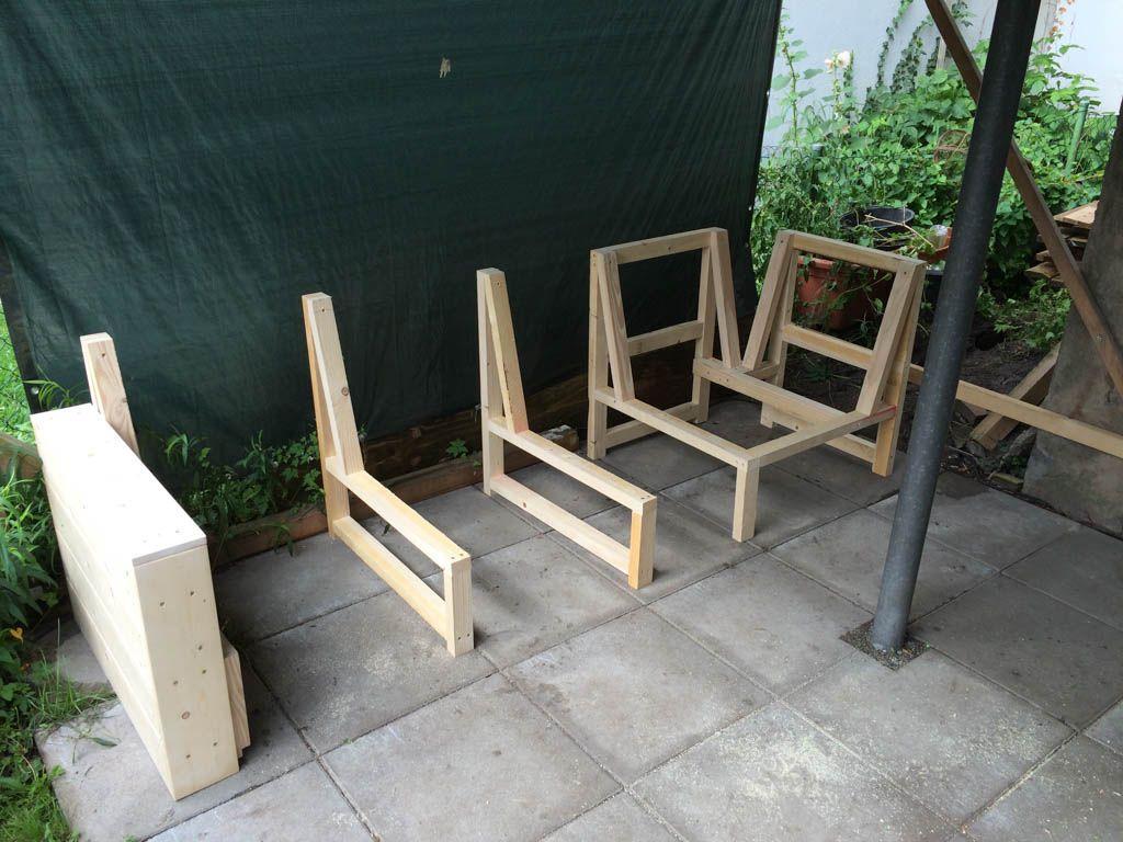 Innenarchitektur:Kühles Holz Sofa Selber Bauen Lounge Sessel Holz ...