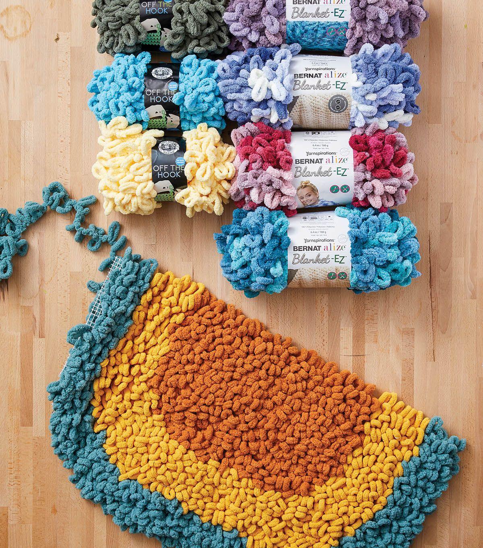 30+ Loop it yarn blanket inspirations