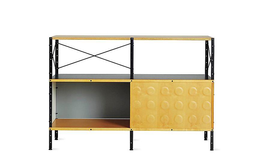 Eames® Storage Unit, 2x2 with Doors   Furniture   Pinterest ...