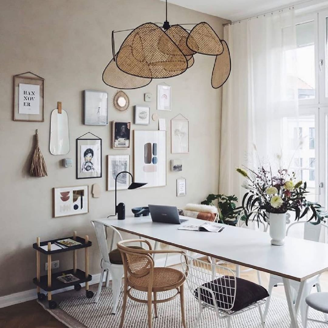 """Nedgis on Instagram: """"Monday home office.  #lighting #marketset #fermliving #homeoffice #wfh #nedgis available now @Nedgis . . #luminaires #interior4all…"""""""