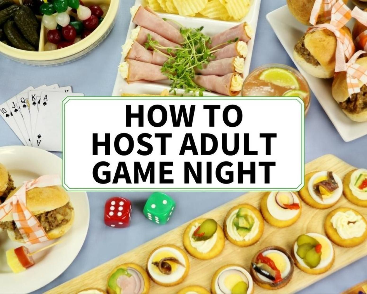 How To Host A Stay In Adult Game Night With Images Adult Game