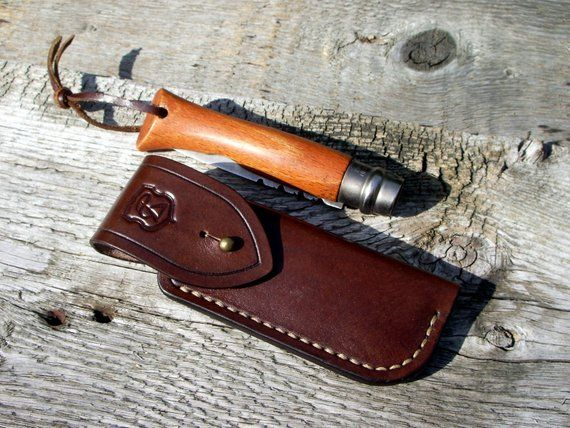 Leather Knife Belt Pouch Folding Knife Sheath Cuchillos Fundas Y Estuche