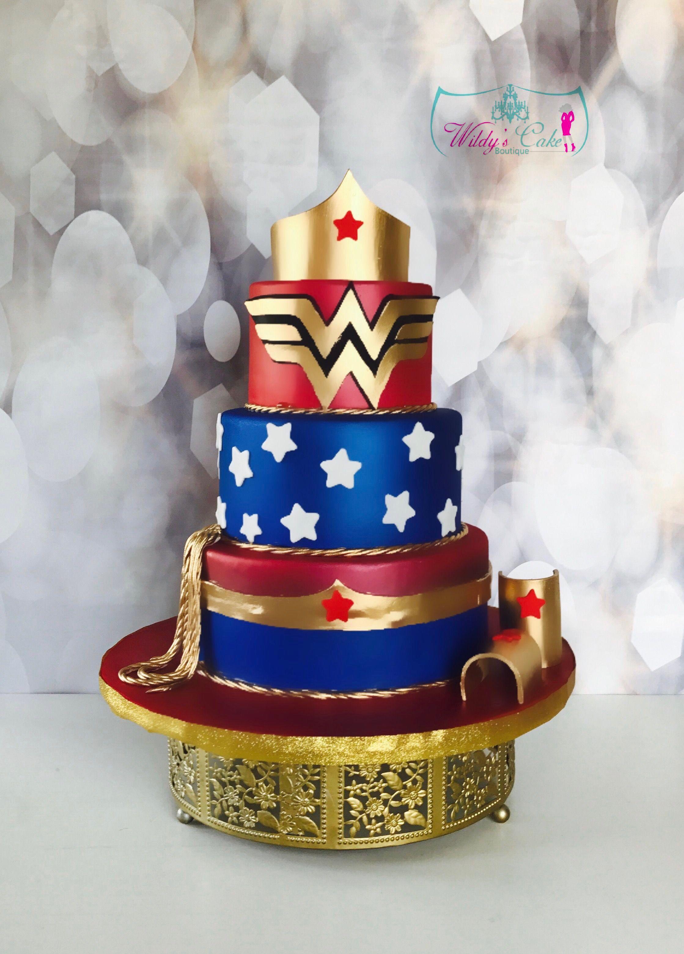 Wonder Woman Cake Custom Cakes Houston Personalized Personalised