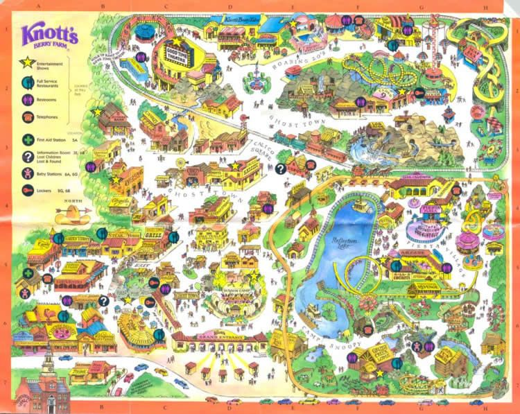Knotts Berry Farm Map | Amut Parks | Knotts berry, California ... on disneyland map, oceans of fun map, legoland map, universal studios hollywood map, pink's hot dogs map, mt. olympus water & theme park map, kings dominion map, adventure city map, cedar point map, carowinds map, kings island map, ghost town in the sky map, california adventure map, magic kingdom map, kentucky kingdom map, islands of adventure map, wonderland park map, magic mountain map, canada's wonderland map, six flags map,