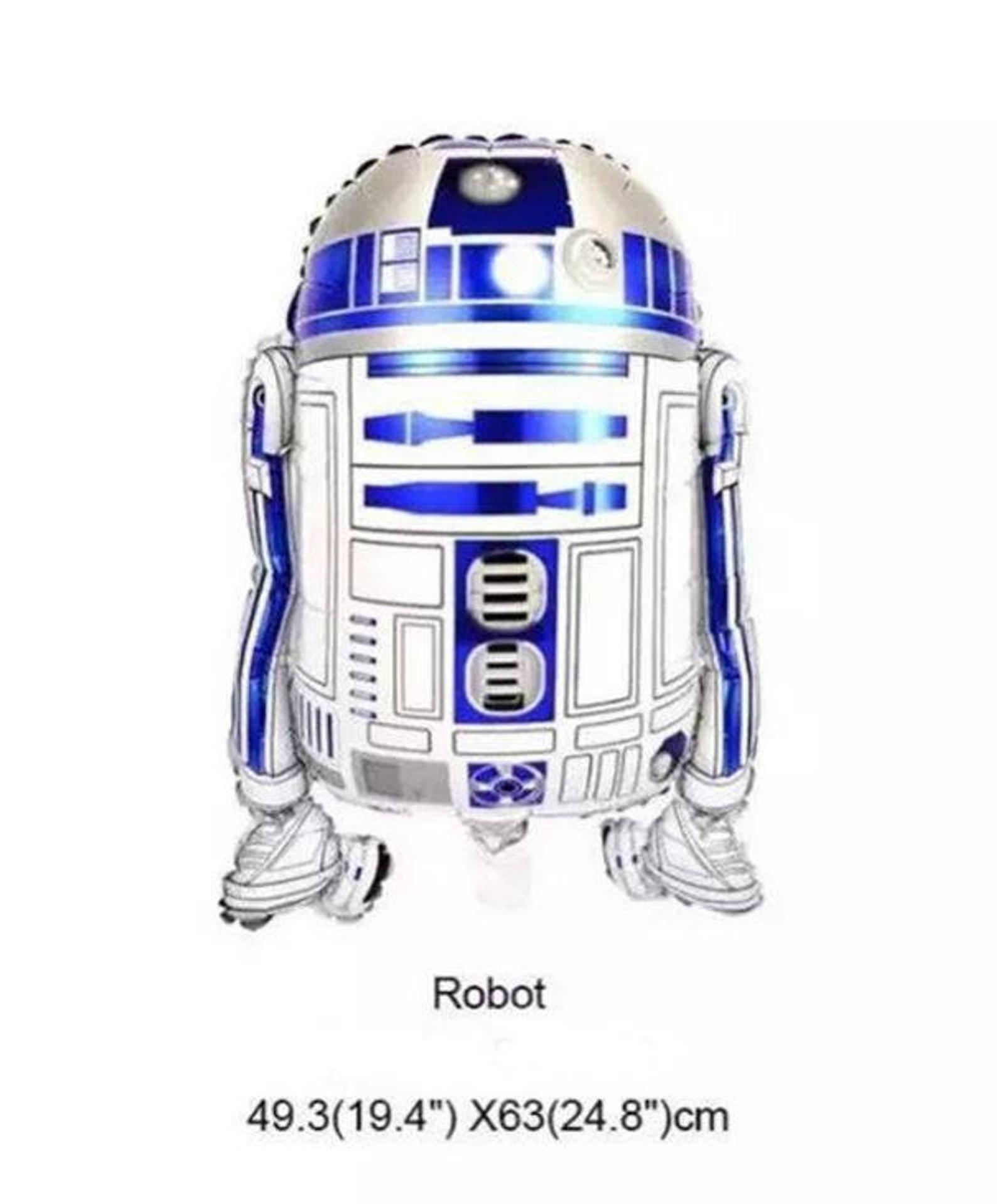 "1x Star Wars /""r2d2/"" Giant Foil Balloon Party R2d2 Balloon Birthday 26 x"