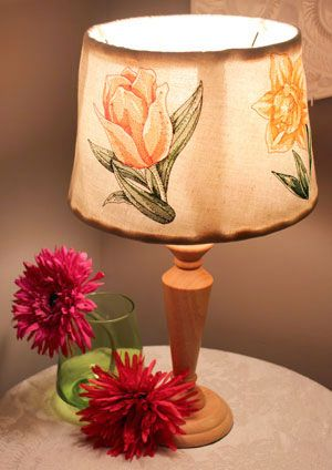 Free project instructions to make embroidered lamp shades free project instructions to make embroidered lamp shades embroiderylibrary embroidery lamp shade hh aloadofball Images