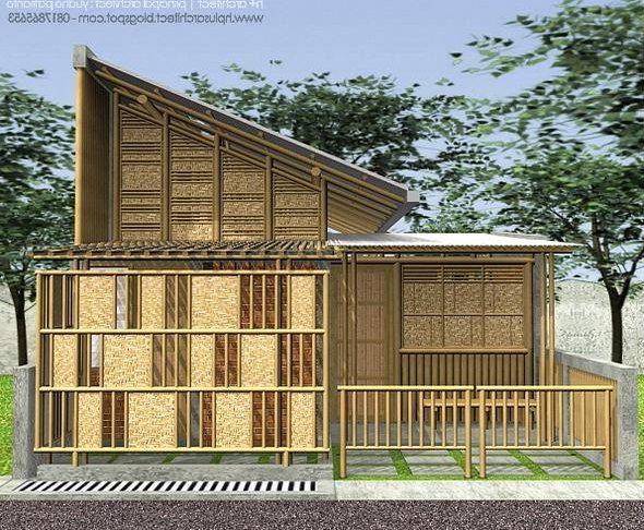 Rumah Bambu Unik