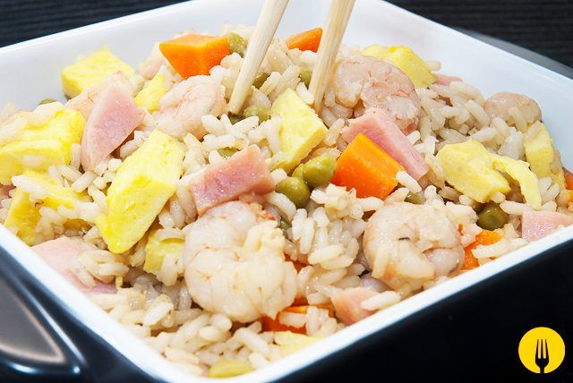 Receta De Arroz Chino Tres Delicias Fácil Recipe Food Food Inspiration Salty Foods