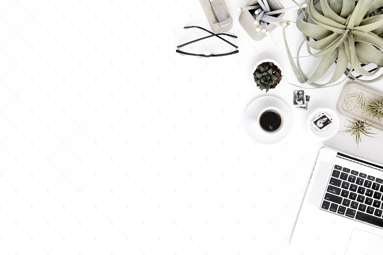 Neutral Minimalist Desk Collection #05   Minimalist ...