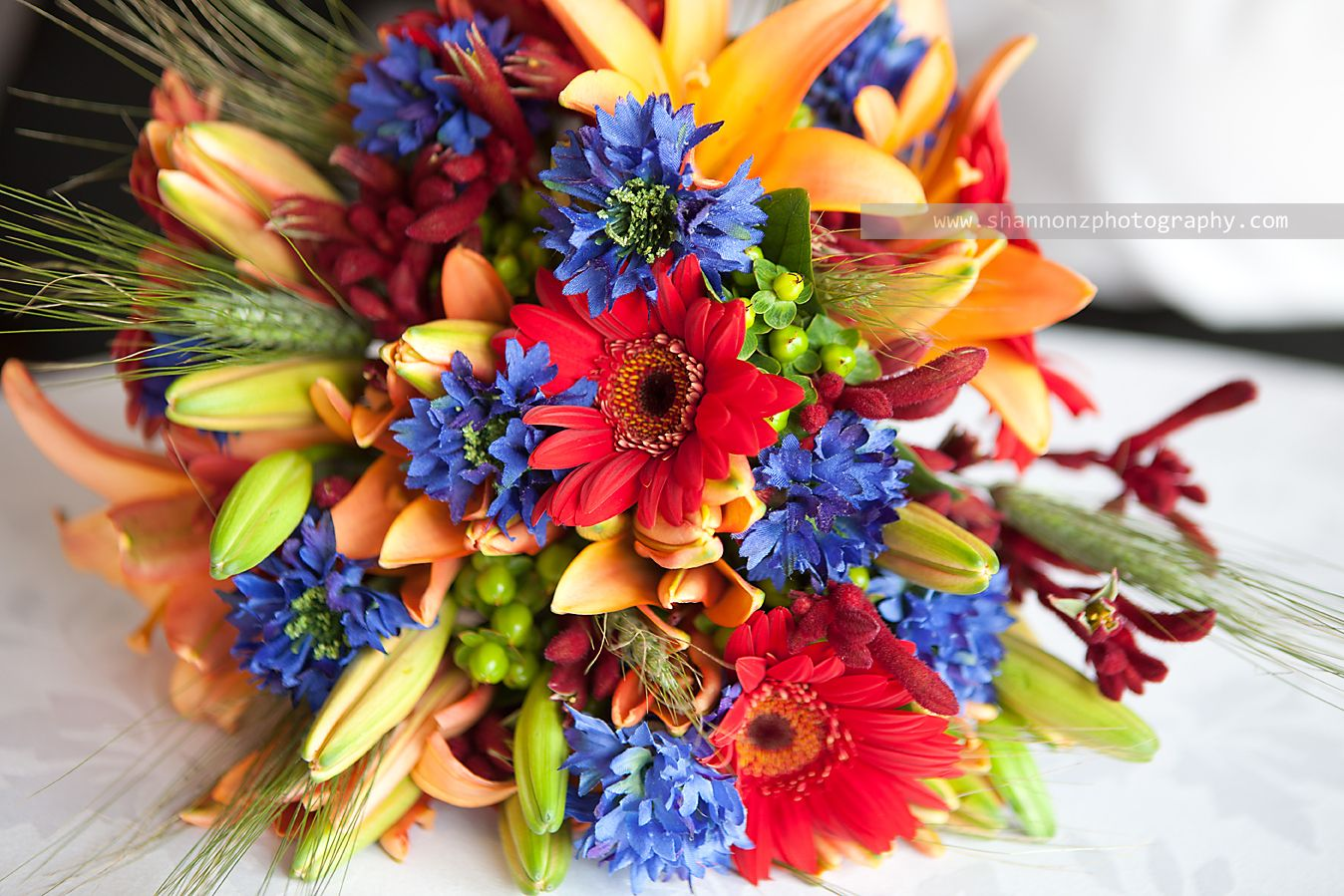 Bright colorful wedding bouquet red yellow blue flowers wedding bright colorful wedding bouquet red yellow blue flowers mightylinksfo