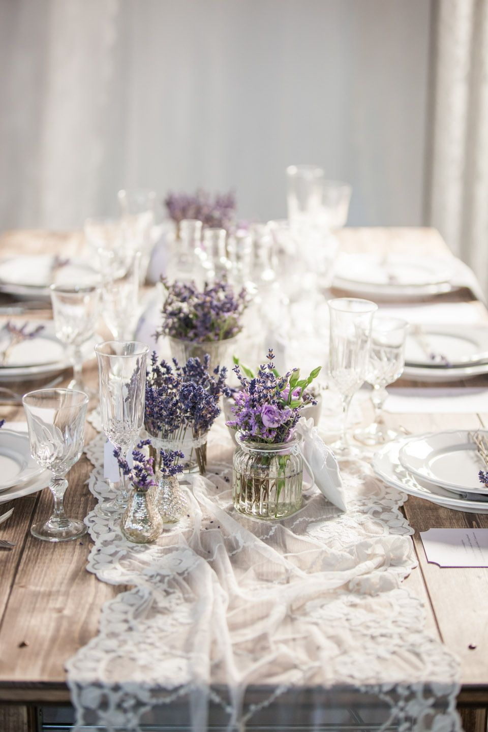 Syflove romantic table setting party ideas pinterest lavender wedding decor ideas are very exquisite and beautiful subtle lavender shades look great in the hall decoration and the table setting junglespirit Gallery