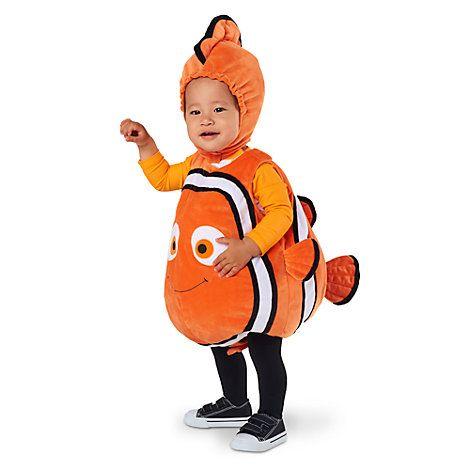 FINDING DORY Ragazze Costume Disney animale pesce mare bambino Kids Costume Outfit