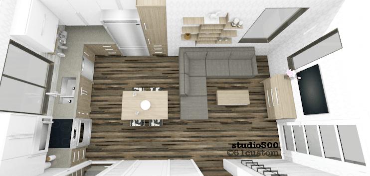 Studio500 Modern Tiny House Plan 61custom Modern Tiny