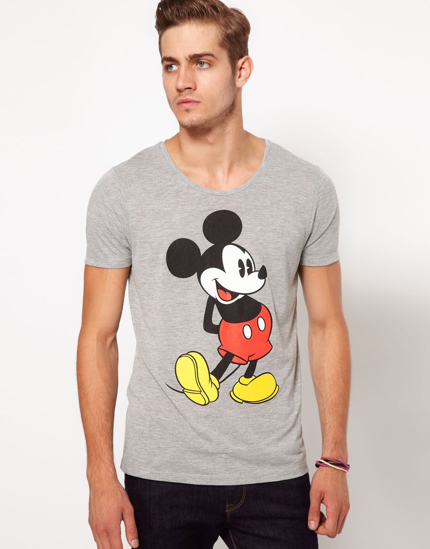 Grey Mickey Mouse Print T-Shirt, Online Shopping, Women's Fashion, Men's  Fashion, Technology, Homeware, Dress, Shirt, Shoes, Watches, Jewellery,  Playsuits, ...