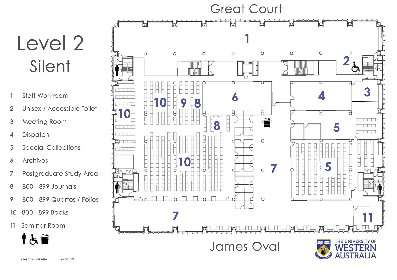 Reid Library Floor Plans University Library The University Of Western Australia Library Floor Plan University Plan How To Plan