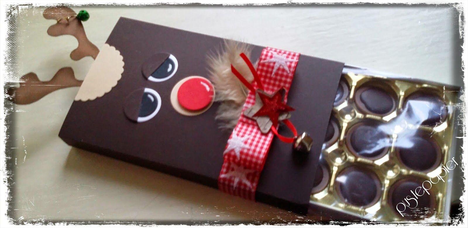 Toffifee Verpackung, Geschenke, basteln, Weihnachten, Elch ...