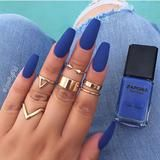 Denim diva -   7 hair Blue nail nail ideas