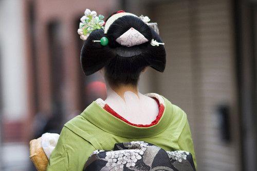Back of Geisha