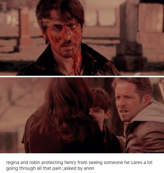 OUAT ~ It was hard for Henry too because Hook was his potential father.