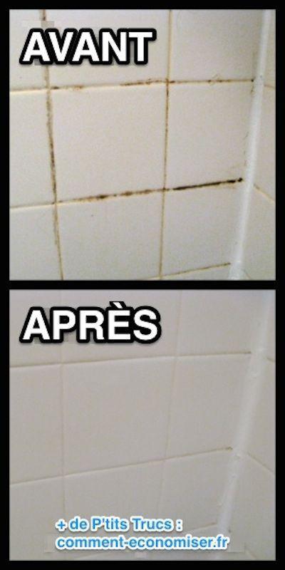 comment nettoyer les joints de carrelage avec un nettoyant maison - Nettoyage Joint Salle De Bain