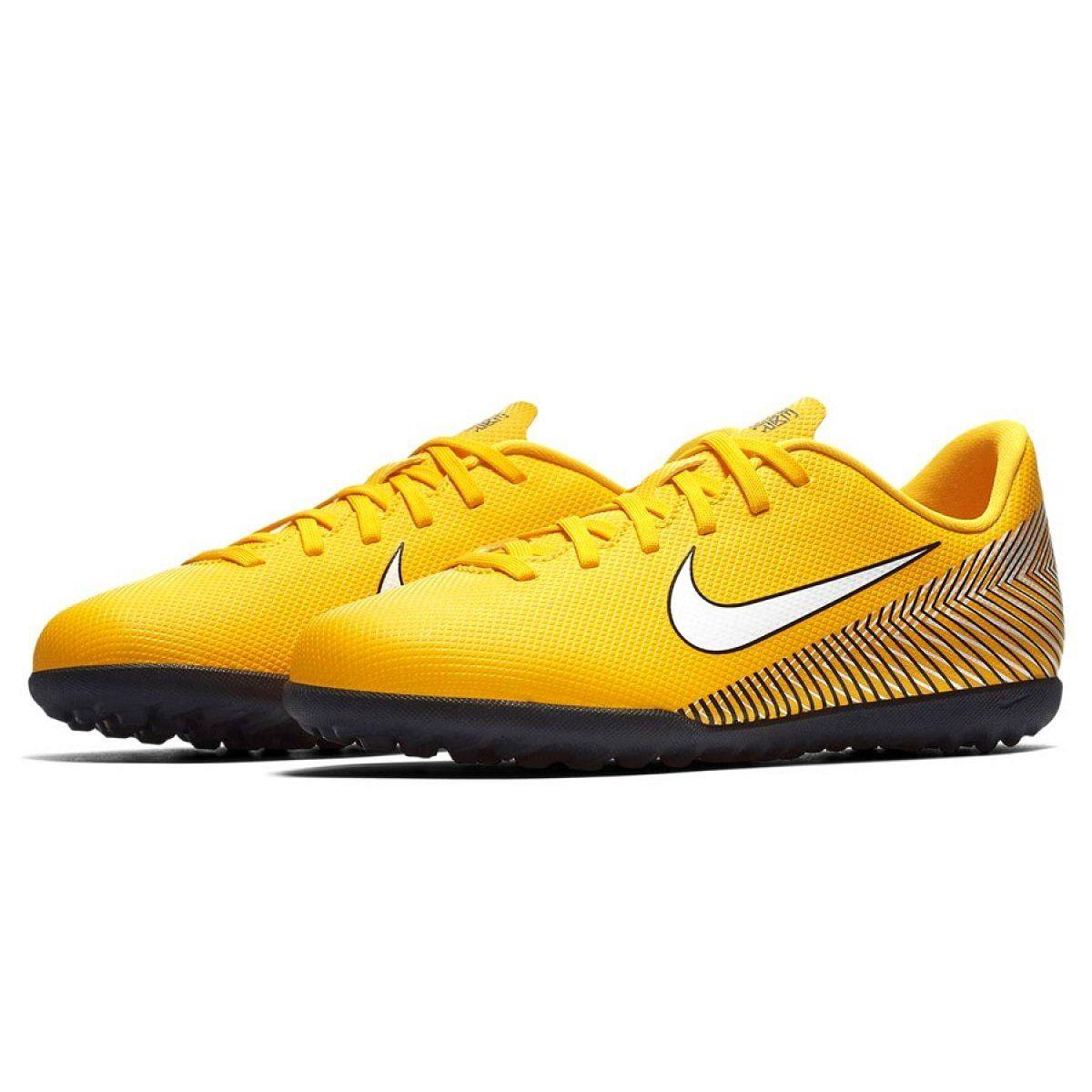 Buty Pilkarskie Nike Mercurial Vapor 12 Club Neymar Tf Jr Ao9478 710 Zolte Zolte Nike Nike Cortez Sneaker Sneakers Nike