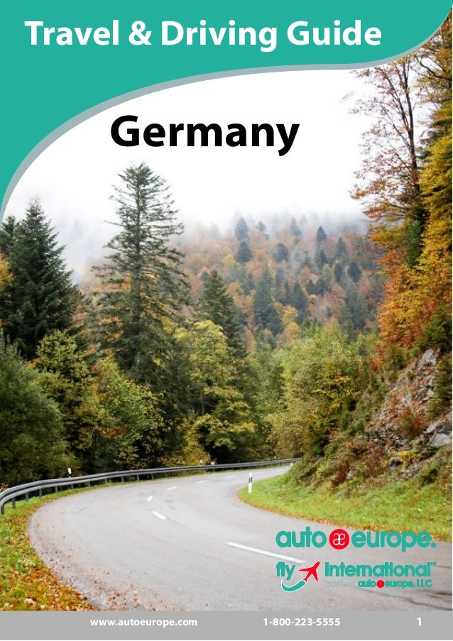 Auto Europe-Travel & Driving Guide for Germany --> See more at http://www.everythingaboutgermany.com