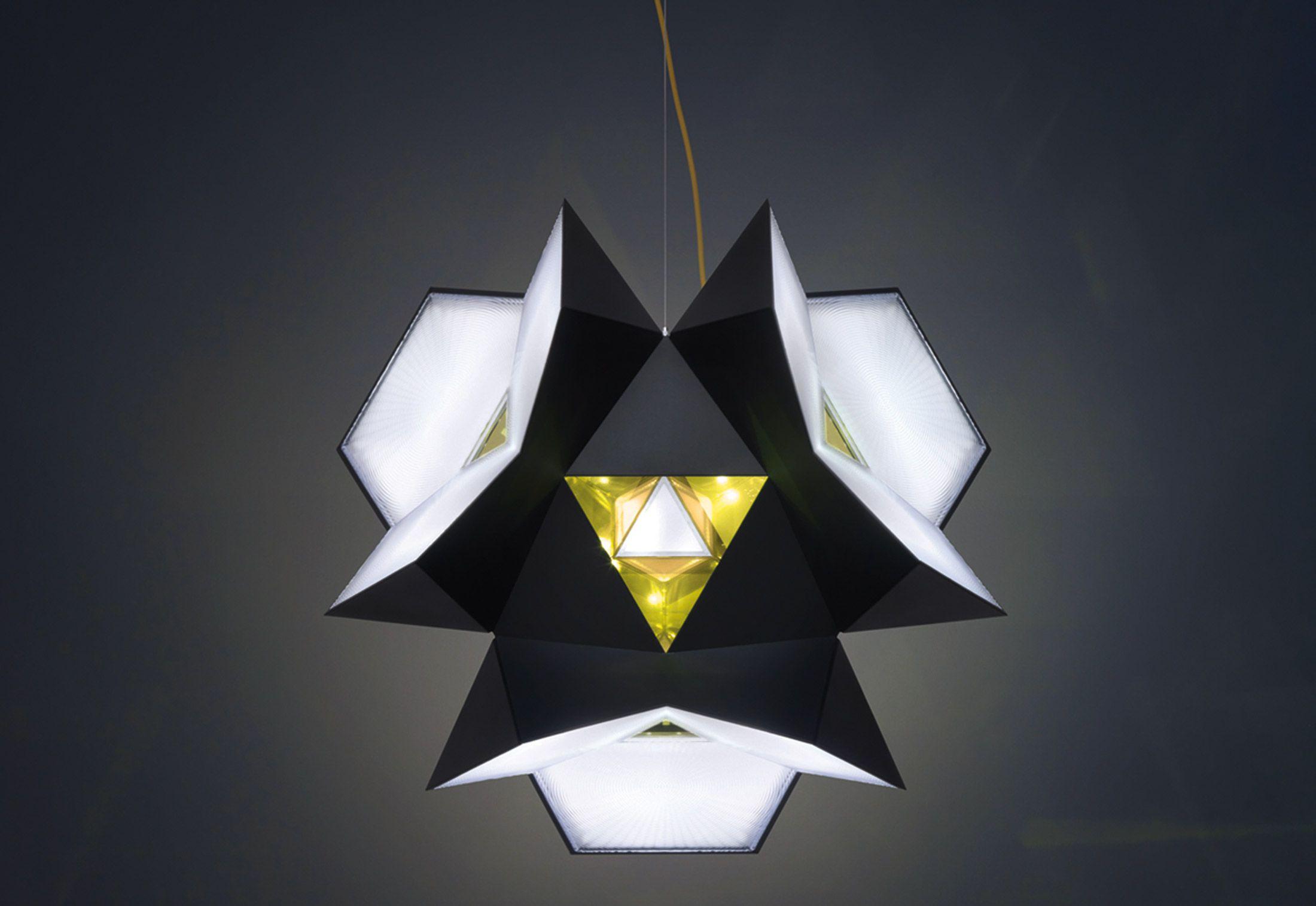Zumtobel Masterpieces Starbrick Pendant Lamp Design Eclectic Light Fixtures Vitra Design Museum