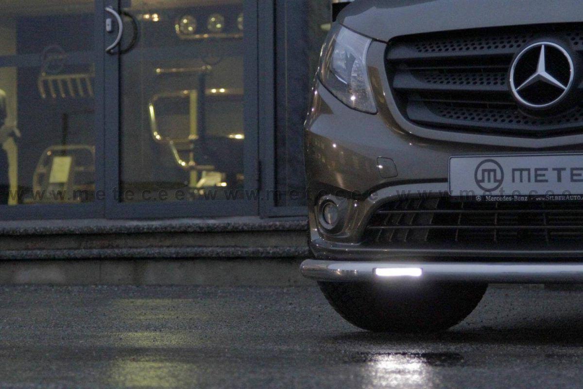Metec CityGuard m/LED Kjørelys til MercedesBenz Vito 2014