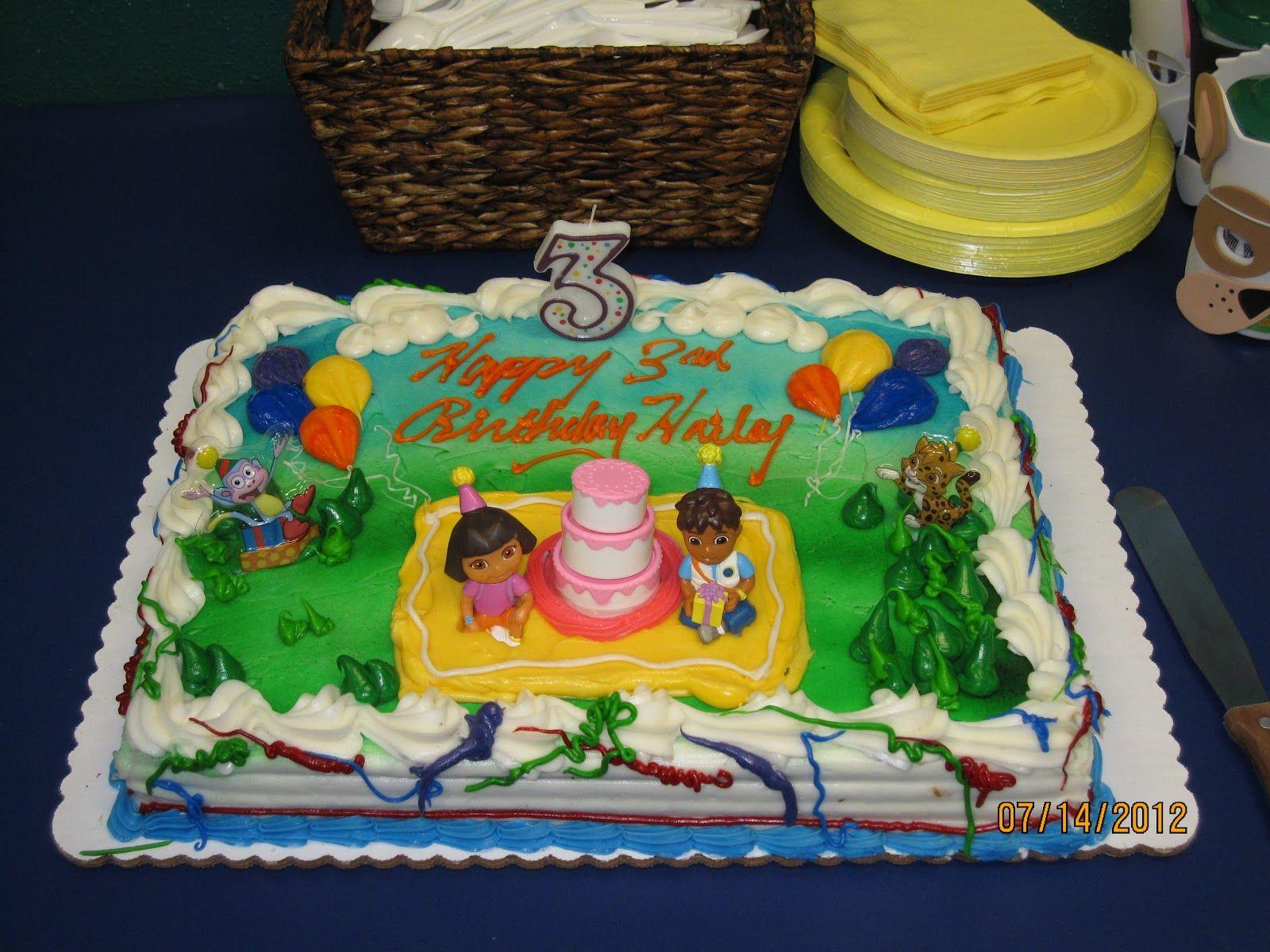 Dora Cake Recipe In English: Dora And Diego Cake