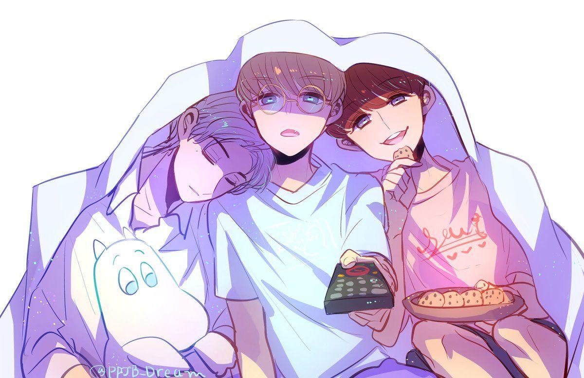 Nct Dream Jeno X Renjun X Jaemin Ilustrasi Animasi Lucu