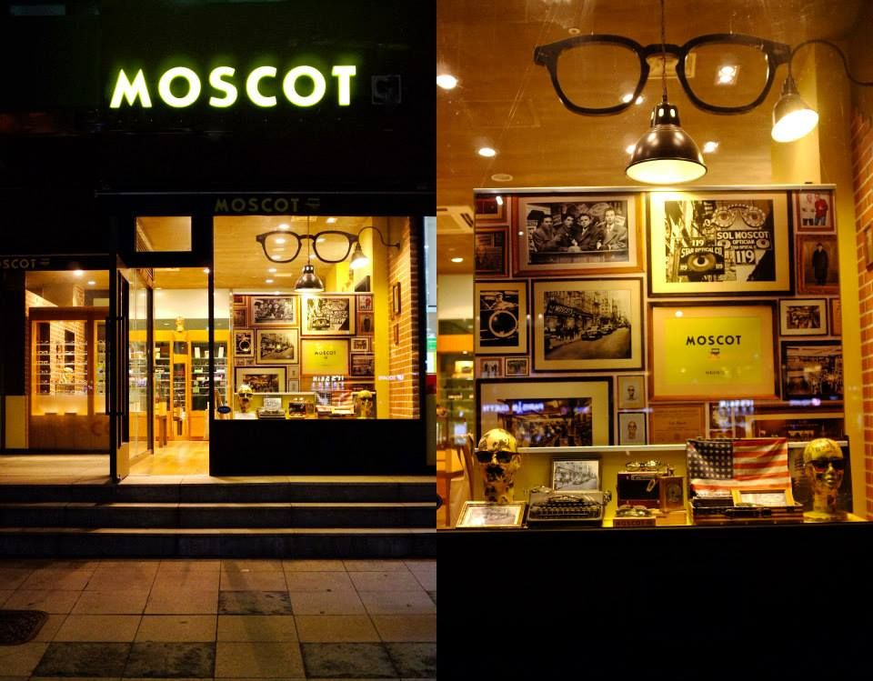 1f13332f03 Check out the new fall windows at #MOSCOT Seoul! New York City soul, in  Seoul!