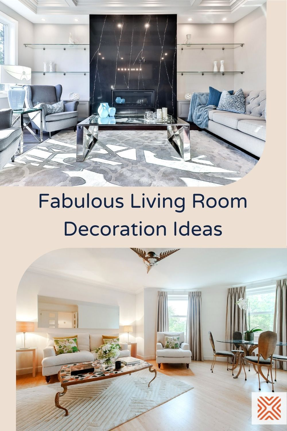 Before you begin decorating a living room, you must first take note of the living room layout, the wall paint colors, and the ways to accessorize it. If you're having trouble getting started, we have a full decor guide on how to decorate a living room here.