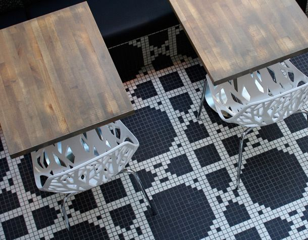 Chairs & tile
