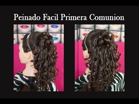 Videos de peinados de comunion