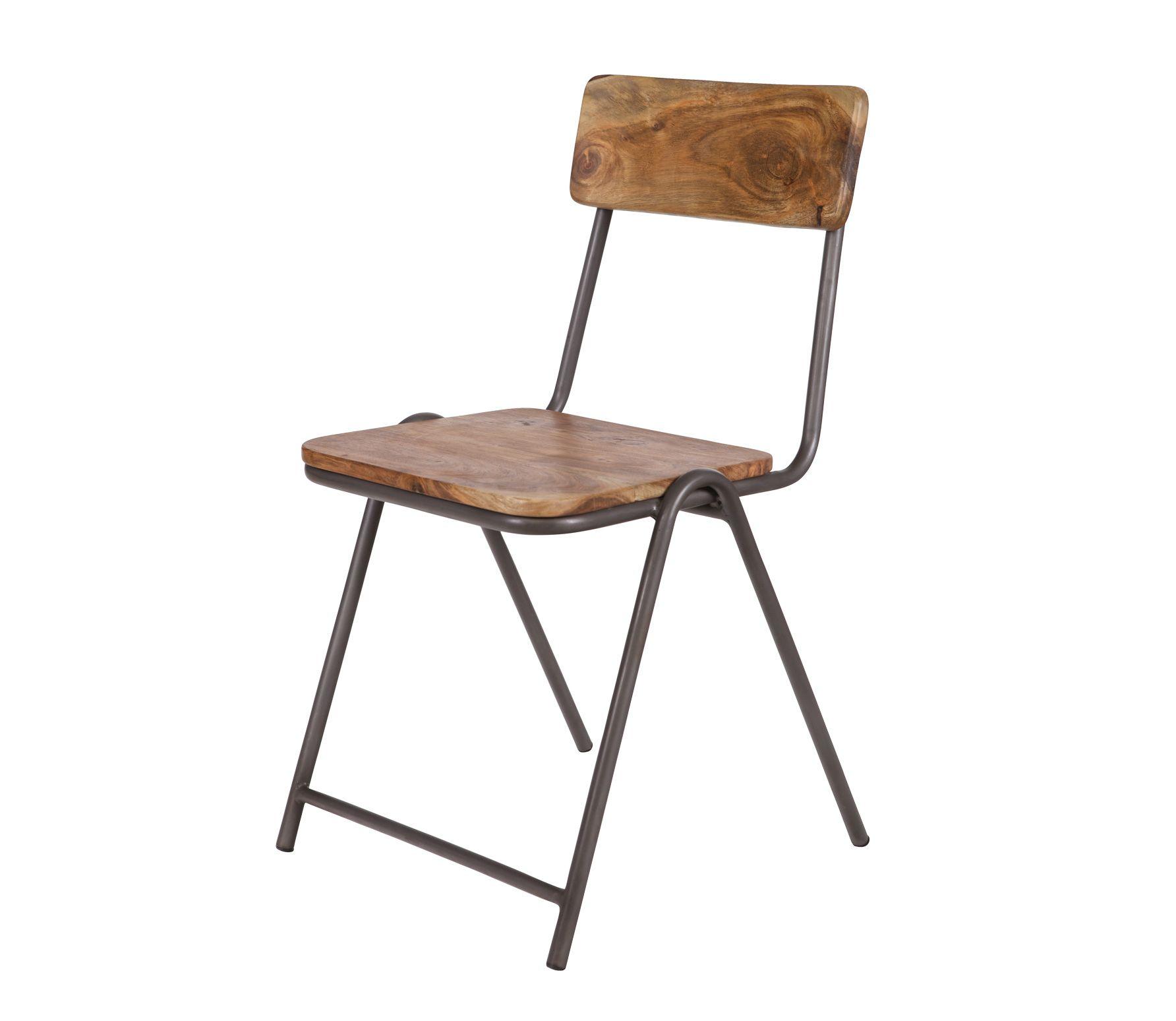 Voorbeeld van Houten stoel Indi WOOOD