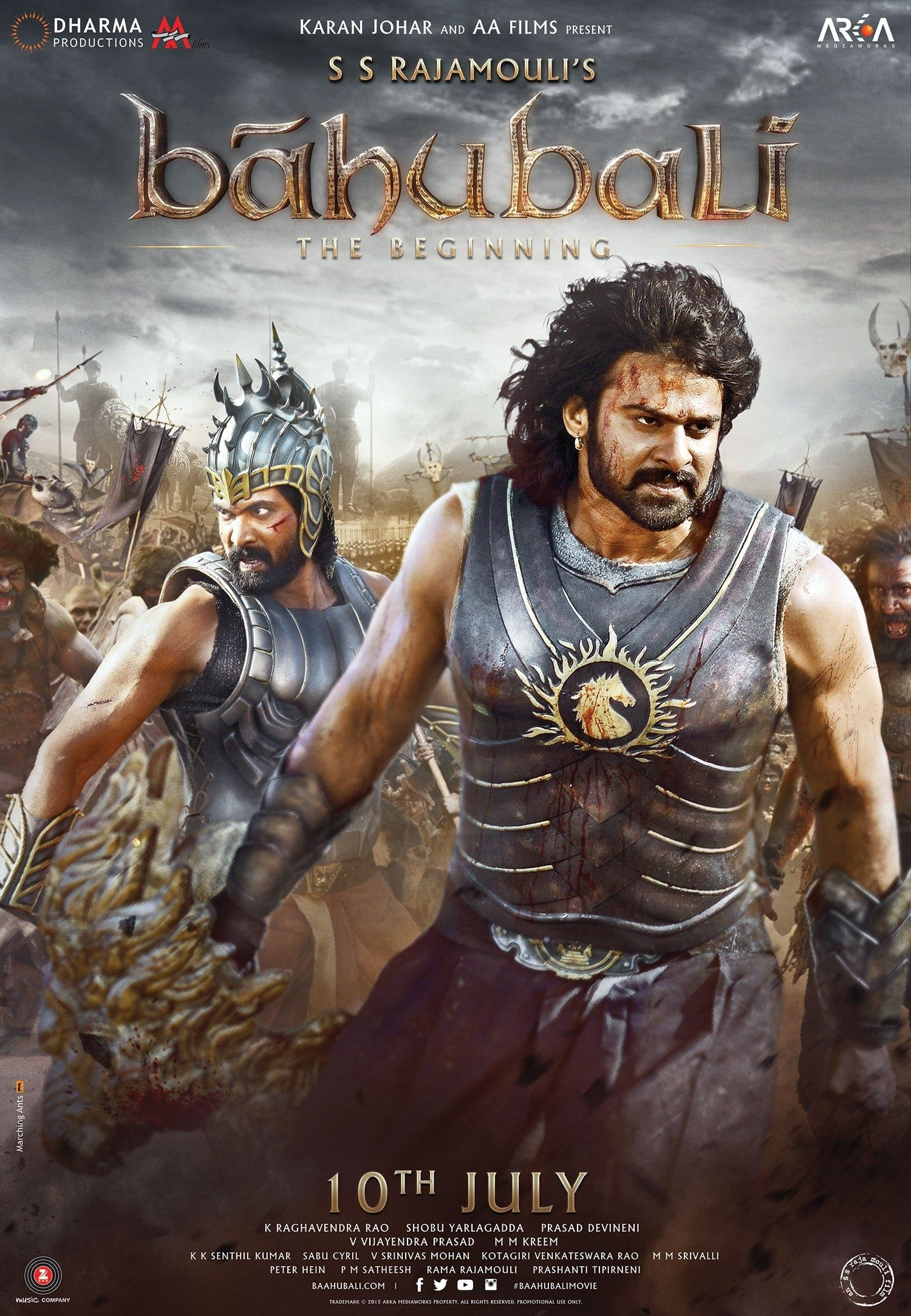 Baahubali The Beginning 2015 Full Hindi In Hindi 1080p