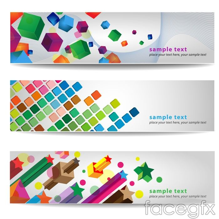 Creative Hd Graphical Banners Vector Templates Banner Vector Banner Ads Design Banner Design