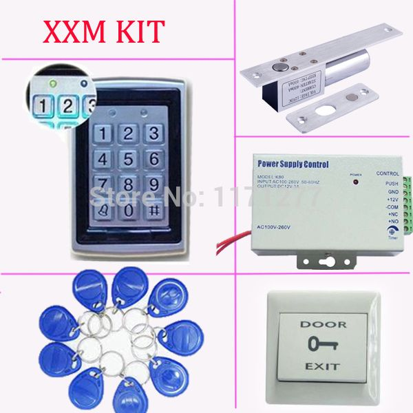 Standalone Single Door Access Control System Diy Access Control Kit With All Accessories Access Control System Access Control Single Doors