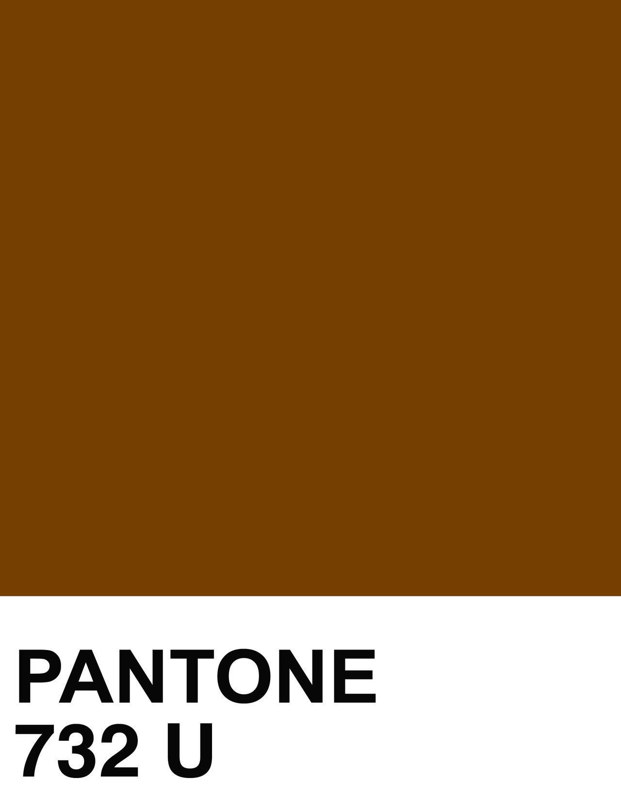 Pantone 732 U Card