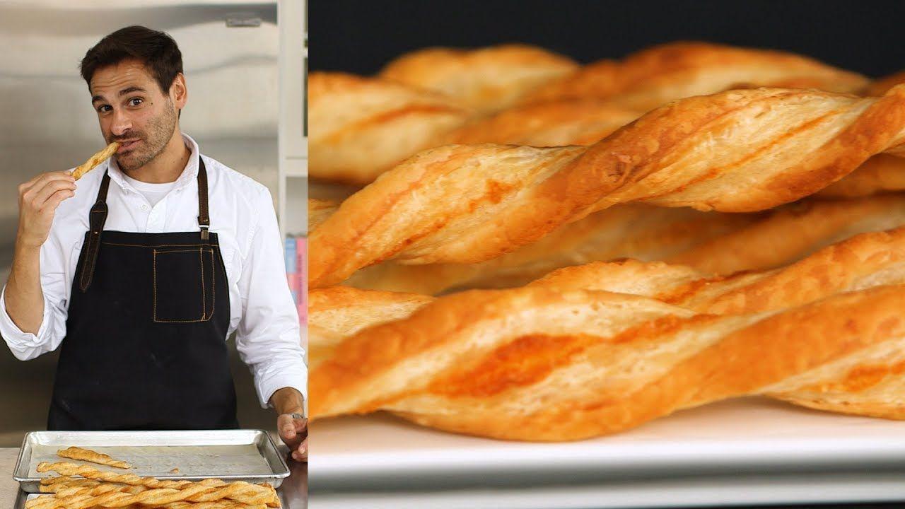 Pajas Youtube the trick to perfect parmesan straws - kitchen conundrum