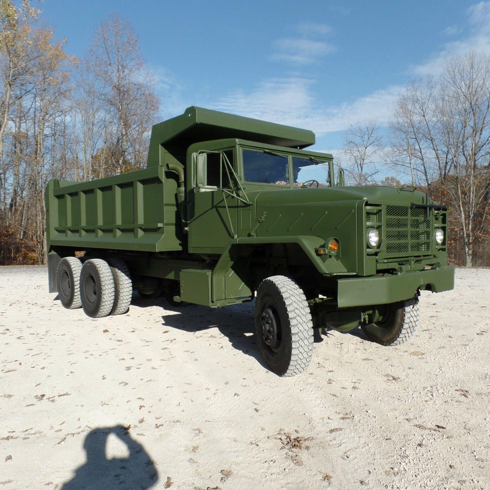 like new 1984 AM General dump truck military Military