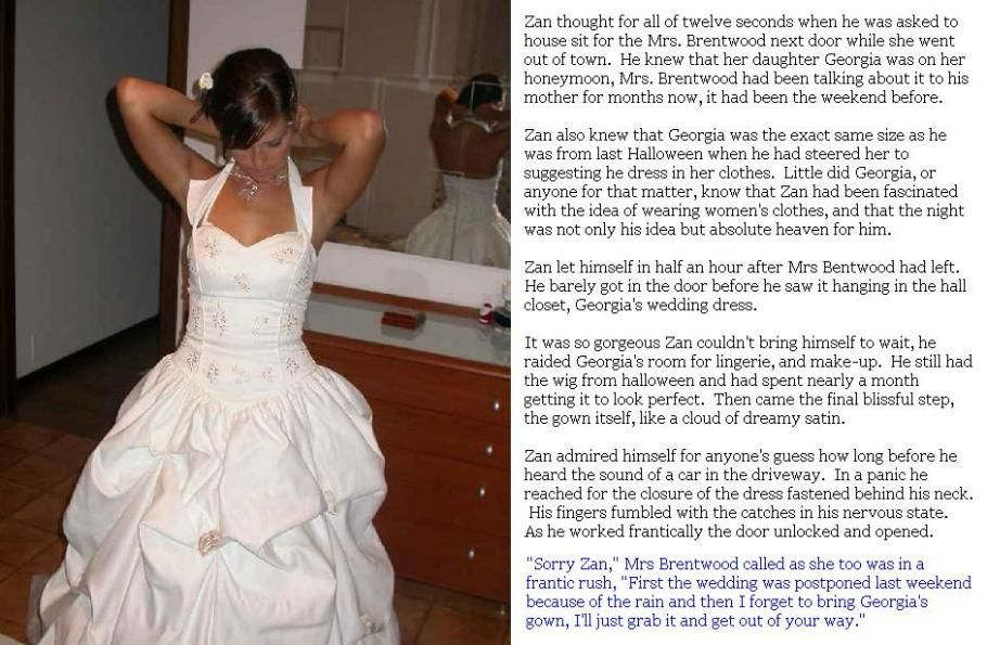Pin By Joshua Lyford On The Sissy Bride Dresses.