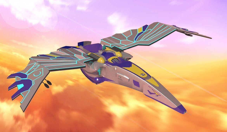 Spaceship Horus Concept by calamitySi.deviantart.com on @DeviantArt