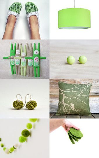 green spring  by Caroline on Etsy--Pinned with TreasuryPin.com