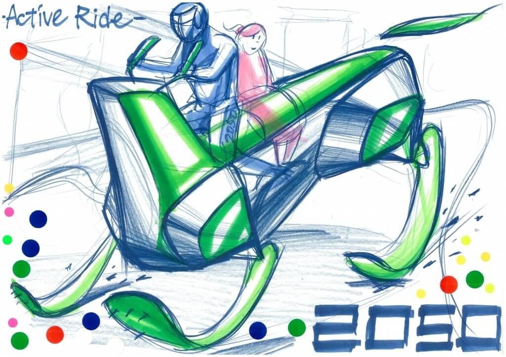 The 2nd Ultimate Car Design Battle was held in Japan. Here is a CHAMPION's sketch! Competitors drew car sketches within a time limit of 30min by using only a pen and marker! The theme for the final round was