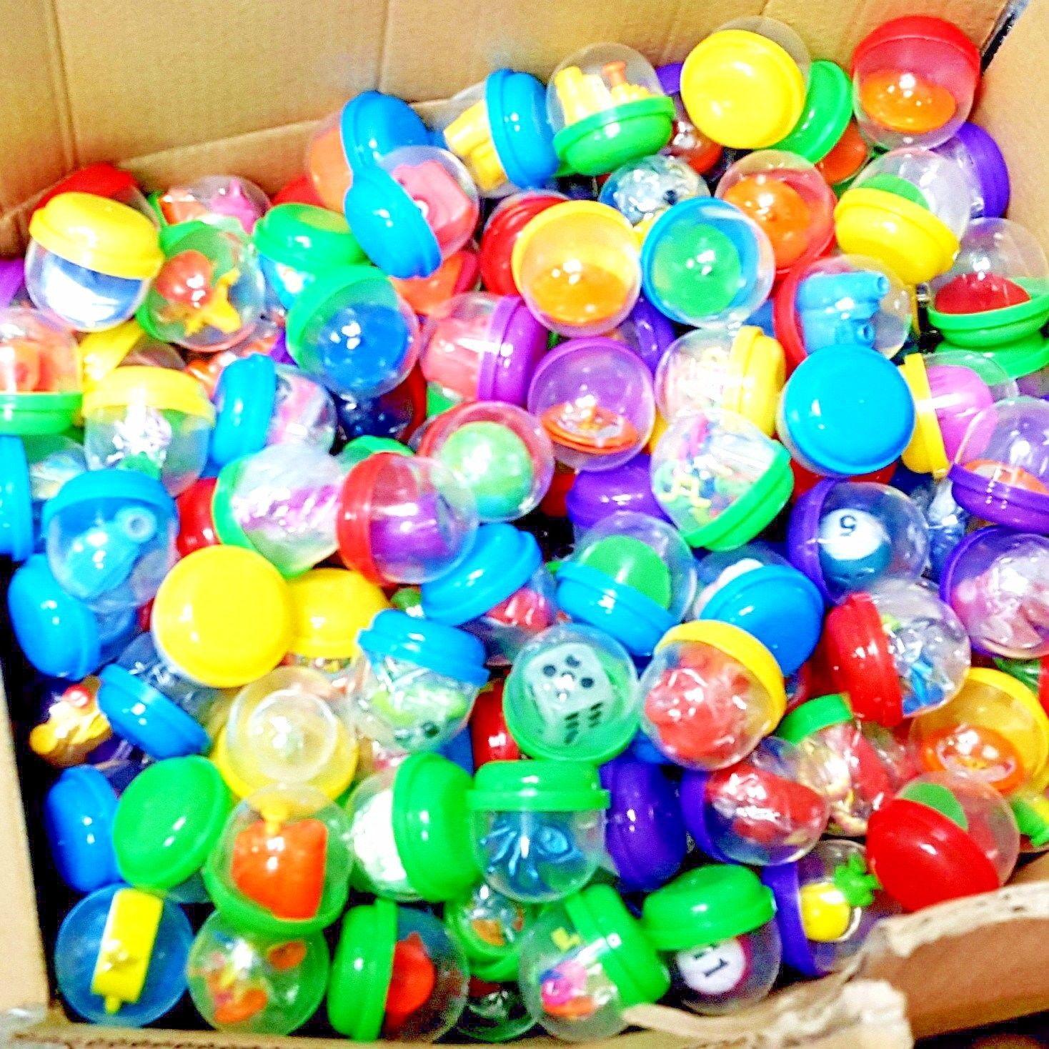 Set Of 6 Splat Egg Party Bag Toy Or Prize